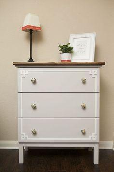 ikea hack tarva dresser, painted furniture, repurposing upcycling, Ikea Hack Tarva Dresser