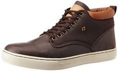 British Knights Men's Wood Dark Brown and Cognac Casual Sneakers - 10 UK (B35-3601-06) British Knights http://www.amazon.in/dp/B00WM5MOL4/ref=cm_sw_r_pi_dp_KF6iwb18Y4C4S