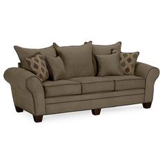 American Signature Furniture - Rendezvous Upholstery Sofa $499.99 #ASFwishlist
