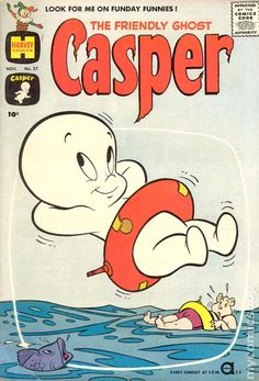 Casper the Friendly Ghost Series Harvey) 27 Retro Wallpaper Iphone, Aesthetic Iphone Wallpaper, Vintage Cartoons, Vintage Comics, Bedroom Wall Collage, Photo Wall Collage, Comic Book Covers, Comic Books, Casper The Friendly Ghost