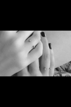 I have a ring that looks similar to this piercing...I would get this done