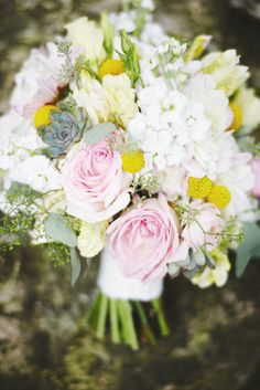 cocoa & fig rustic wedding flowers