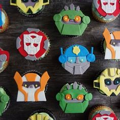 This item is unavailable Transformers Cupcakes, Transformers Birthday Parties, Rescue Bots Cake, 4th Birthday, Birthday Cakes, Birthday Ideas, Alice In Wonderland Cupcakes, Transformer Birthday, Kid Cupcakes