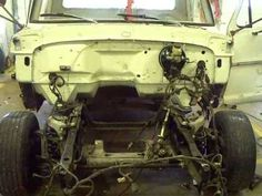 crown vic front suspension into 67 F100 four Stiefel's class - YouTube