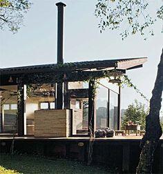 Com 104 m², este chalé em Monte Verde é um sonho - Casa Projeto de Paulo Elias e Leandro Alegria