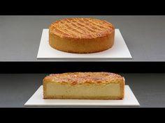 Gâteau Basque con Crema de Vainilla - Basque Cake with vanilla cream Vanilla Cream, Vanilla Cake, Basque Cake, Tray Bakes, Mousse, Tapas, Bakery, Sweets, Desserts