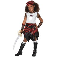 Bratz Pirate Child Costume