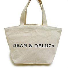 DEAN&DELUCA ディーン&デルーカ コットンキャンバスホリデートートバッグ エコバッグ8色 SorLサイズ (S, ナチュラル(ロゴ・ブラック)) DEAN&DELUCA(ディーン&デルーカ) http://www.amazon.co.jp/dp/B00F3O6NOK/ref=cm_sw_r_pi_dp_.a9Gwb1H1ZSJQ