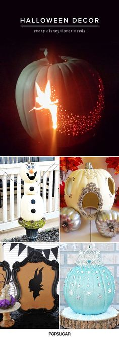 If you love Disney, you're going to be obsessed with these Halloween decorations.