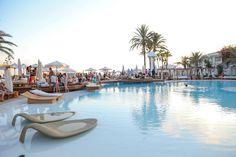 Poolside party at Destino Pacha Ibiza Resort