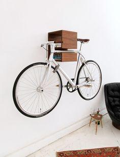 cool way to hang your bike