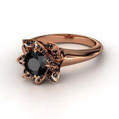 My 2 favorites: Black diamond & Rose gold
