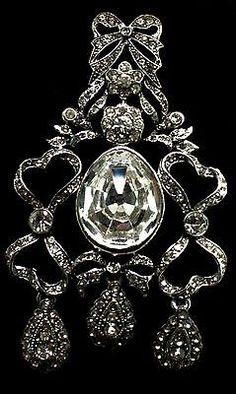 "VTG KENNETH JAY LANE KJL ""LET THEM EAT CAKE"" HUGE RHINESTONE DANGLE BROOCH PIN | Jewelry & Watches, Vintage & Antique Jewelry, Costume | eBay!"