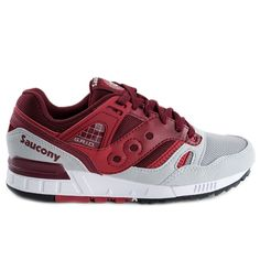 Saucony Grid SD Red/Grey