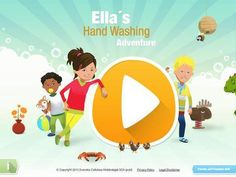 New FREE app for kids - Ella's Hand washing Adventure for iPad