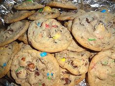 Homemade Chocolate Chunk Pretzel M&M Cookies (3 Dozen)