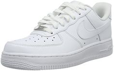Nike WMNS Air Force 1 07 Low All White Women Lifestyle Casual Sneakers New - 6.5
