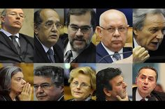 PT terá indicado dez dos 11 ministros do STF até 2016   #DilmaRousseff, #GilmarMendes, #JoaquimBarbosa, #MarcoAurélioMello, #Petrolão, #PT, #SupremoTribunalFederal, #VitorVieira
