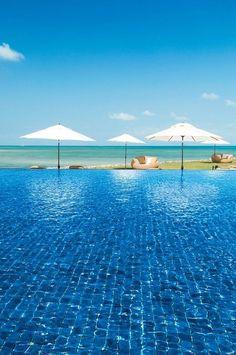 One of the infinity Pools at Djibouti Palace Kempinski !