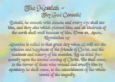 The Messiah - Thy God Cometh!