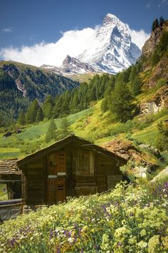 """When I arrived in Zermatt, Switzerland, I was completely stunned and smitten by the Matterhorn and its sheer Alpine magnificence.     — By Ayush Bhandari (from """"Open Theme"""")"""