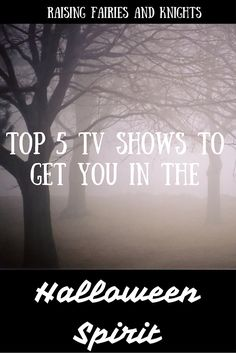 Top 5 TV Shows to Get you in the Halloween Spirit - This is the perfect time of year to watch some magical shows, perhaps a little scary to get you in the Halloween spirit. Samhain Halloween, Spirit Halloween, Happy Halloween, Diy Halloween Costumes, Halloween Treats, Halloween Party, Spooky Treats, Blog Love, Cute Pumpkin