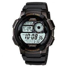b813b33f2b67 Casio Digital Sports Watch for Men - Black