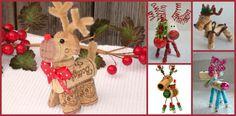 12 Craft Ideas For Making Cork Reindeer OrnamentsGotta Love DIY