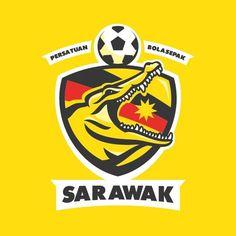 Sarawak FC of Malaysia wallpaper. Sports Team Logos, Team Mascots, Football Wallpaper, Animal Logo, Juventus Logo, Logo Inspiration, Hafiz, Cavaliers Logo, Badge