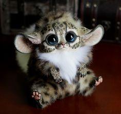 Inari Foxes: Oncilla var2 by Santani.deviantart.com on @deviantART  NOT REAL ANIMALS duh