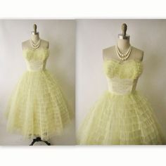 50's Tulle Prom Dress