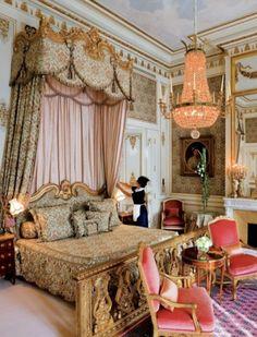 Imperial Suite at The Ritz Paris - Replica of Marie Antoinette's at Versailles