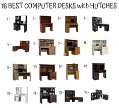 Guide for Selecting and Buying the Right Hutch for Your Home - Home Furniture Design Computer Desk With Hutch, Desk Hutch, Home Furniture, Furniture Design, Best Computer, Room, Bedroom, Home Goods Furniture, Home Furnishings