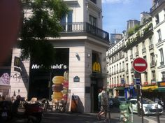 When the urbanism is this good, even the multinationals behave themselves.