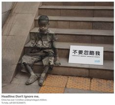 2 In 2008, the advertising firm of Ogilvy and Mather was commissioned to design an ad campaign for the Shanghai branch of UNICEF. The ad was...