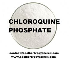 Chloroquine is a medication used to prevent and to treat malaria in areas where malaria is known to be sensitive to its effects. Certain types of malaria, resistant strains, and complicated cases typically require different or additional medication.  Chloroquine Phosphate is the phosphate salt of chloroquine, a quinoline compound with antimalarial and anti-inflammatory properties. Chloroquine is the most widely used drug against malaria, except for those cases caused by chloroquine Types Of Malaria, Nucleic Acid, Viral Infection, Salt, Medical, Cases, Animals, Animales, Animaux