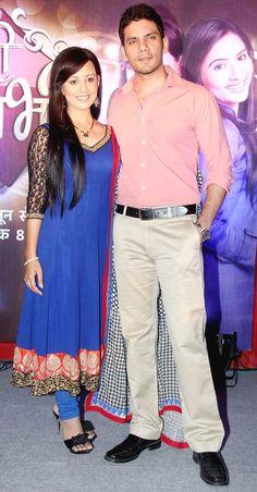 Esha Kansara with Vipul Gupta at the launch of 'Meri Bhabhi' #Bollywood #Fashion