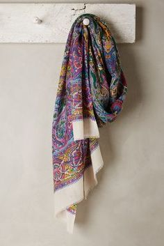 Anthropologie Palladio Paisley Scarf #anthrofave