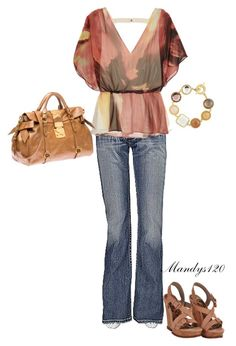 """""""Blouse-y"""" by mandys120 ❤ liked on Polyvore"""