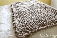 Tricoter avec les bras