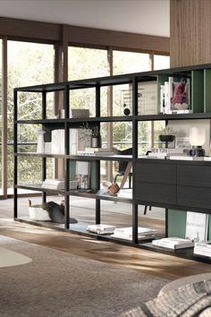 Bibliotheque Kai En Separation De Pieces In 2020 Furniture Design Furniture Home Decor