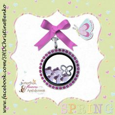Spring is coming!  Warm up your spirit with a South Hill Designs locket.  www.southhilldesigns.com/lily-may