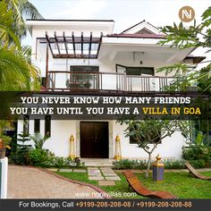 You never know how many #friends you have until you have a #villa in #goa . #noravillas #noraspiritualvilla #travelideas #vacation #holiday #news #deals #india #luxury #hotel #travel #premium #destination #condenast #traveller #villas #russia #russian #iloveyoga #roomwithaview #exclusiveluxury #goacalling #sea www.noravillas.com