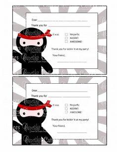 Yoyo crash by madinkaclairec on deviantart kids party ideas ninja love fun multiple choice thank you blank digital custom invitation card printable u print on stopboris Image collections