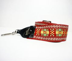 Red Camera Strap - I'm 99% sure my dad has this camera strap, his is at least 40 - 50 years old. It makes me smile.