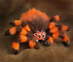 Lovely handmade toys by AlvamadeToys Cute Fantasy Creatures, Cute Creatures, Animated Spider, Monster Dolls, Anime Dolls, Cute Plush, Cute Chibi, Cute Toys, Soft Sculpture