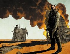 Jim Lee - Mad Max- Fury Road