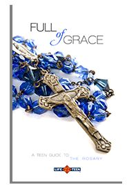 Catholic books, including prayer guides, scripture study for teens, and help for Core members.