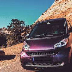 We are smitten with this smart. Good-looking and well-traveled — what's not to like? Photo by @don_mega14 #smartcar #Auto #Car