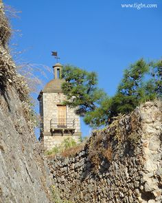 The clock tower of #Akronafplia Castle in #Nafplio - #Argolida, #Greece